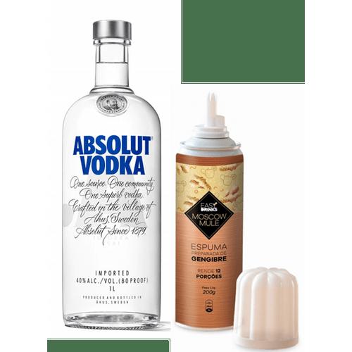 Vodka-Absolut-Regular-1L---Espuma-de-Gengibre-Easy-Drinks-200g
