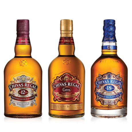 Kit-whisky-Chivas-12-anos-Chivas-Extra-e-Chivas-18-anos