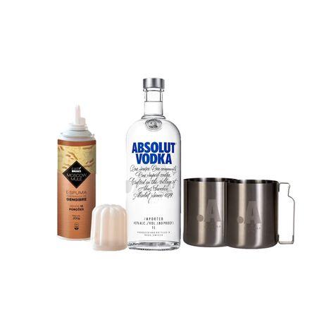 1-Vodka-Absolut-Regular--1L---1-espuma-de-gengibre-easy-drinks---2-Mug-Absolut-