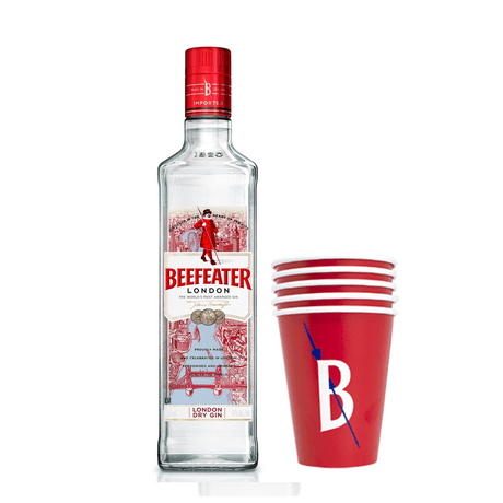 Gin-Beefeater-London-Dry-750ml---5-Copo-Personalizado-Beefeater-380ml