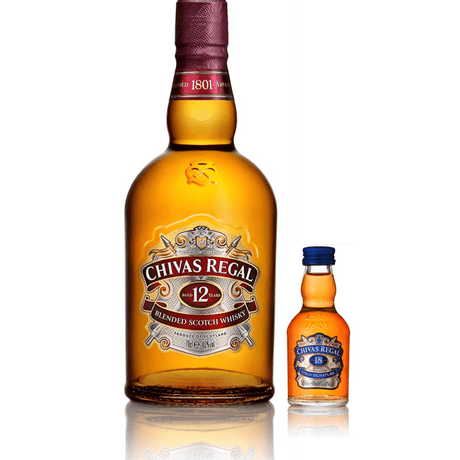 Kit-Whisky-Chivas-Regal-12-anos-1L---Whisky-Chivas-Regal-18-anos-50ml