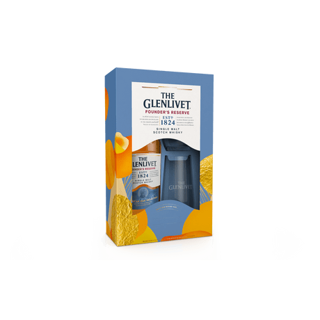 Whisky-The-Glenlivet-Founders-Reserve-700ml---Pack-Com-2-Copos
