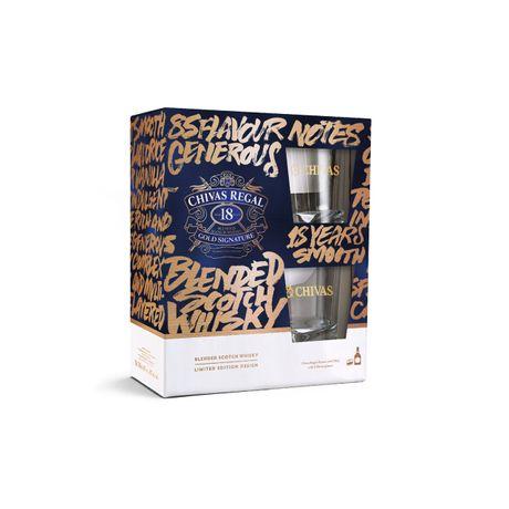 Pack-de-Whisky-Chivas-Regal-18-Anos-750ml-com-2-Copos